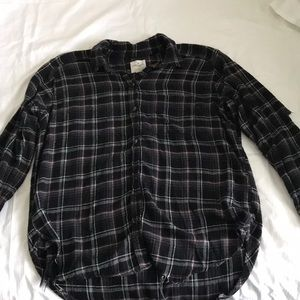 American Eagle Flannel Shirt Size Large